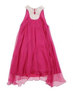 Платье LA STUPENDERIA. Цвет: пурпурный