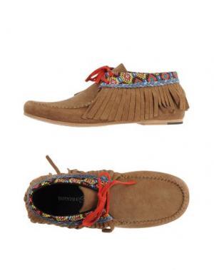 Обувь на шнурках TATOOSH. Цвет: верблюжий