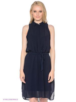 Платье MEXX. Цвет: темно-синий