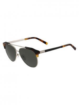 Очки солнцезащитные KL 246S 532 Karl Lagerfeld. Цвет: золотистый,коричневый