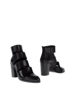 Полусапоги и высокие ботинки STRATEGIA. Цвет: черный