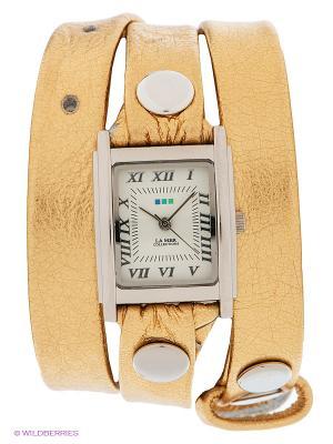 Часы La Mer Collections. Цвет: золотистый, серебристый