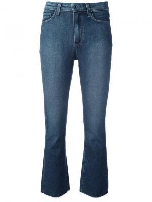 Укороченные джинсы Colette Paige. Цвет: синий