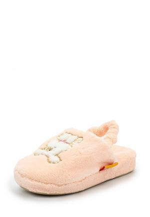 Тапочки Dream Feet. Цвет: коралловый