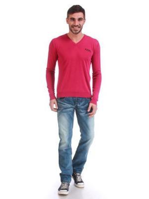 Пуловер VON DUTCH. Цвет: розовый