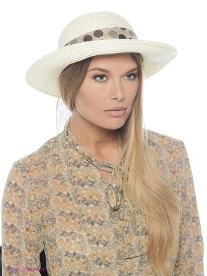 Шляпа Polka Dot (белая) Kawaii Factory. Цвет: кремовый