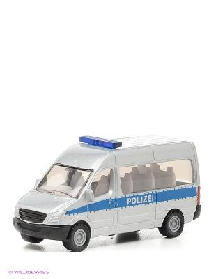 Игрушка Полицейский фургон SIKU. Цвет: белый, синий