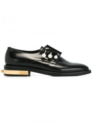 Туфли Fernanda на шнуровке Coliac. Цвет: чёрный