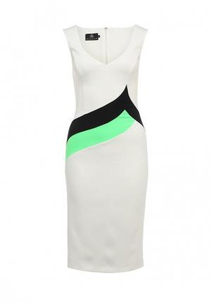 Платье Hybrid. Цвет: белый
