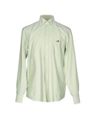 Pубашка VAN LAACK. Цвет: светло-зеленый
