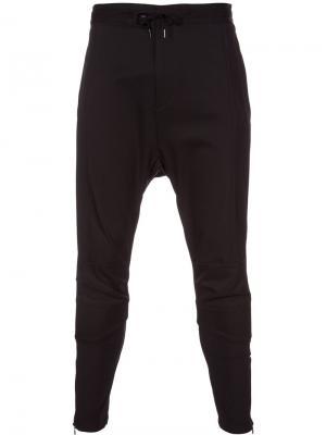 YK Biker trousers Yoshio Kubo. Цвет: чёрный