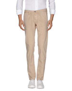 Джинсовые брюки 2W2M. Цвет: песочный