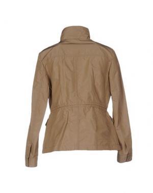 Куртка AQUASCUTUM. Цвет: хаки