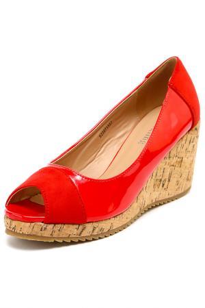 Туфли SPARKLING. Цвет: красный