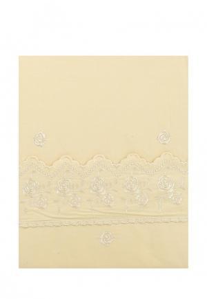 Постельное белье Евро Sofi De Marko. Цвет: бежевый