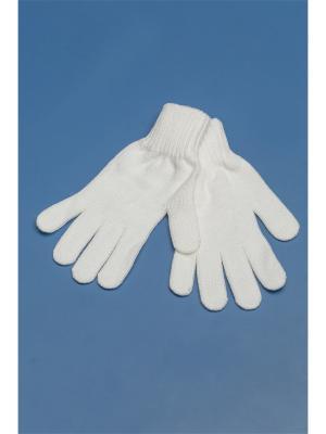 Перчатки Shapkoff. Цвет: белый