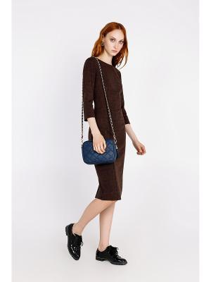 Платье Concept Club. Цвет: темно-коричневый