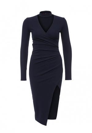 Платье Missi London. Цвет: синий