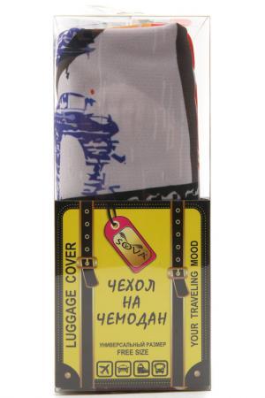 Чехол на чемодан SOVA COVER. Цвет: париж