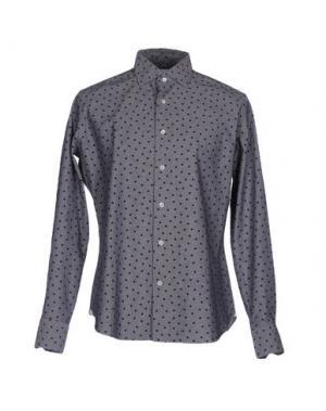 Pубашка LEXINGTON. Цвет: серый