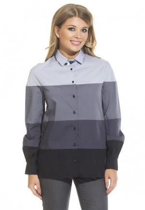 Рубашка Gloss. Цвет: серый