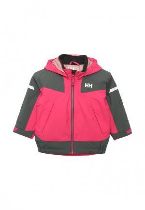 Куртка утепленная Helly Hansen. Цвет: разноцветный