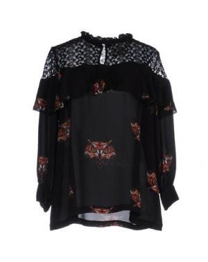 Блузка MARIUCCIA. Цвет: черный