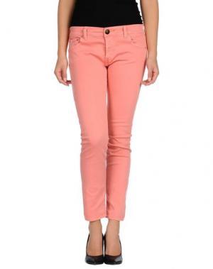 Повседневные брюки SHIELD. Цвет: коралловый