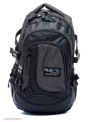 Рюкзак Polar. Цвет: черный