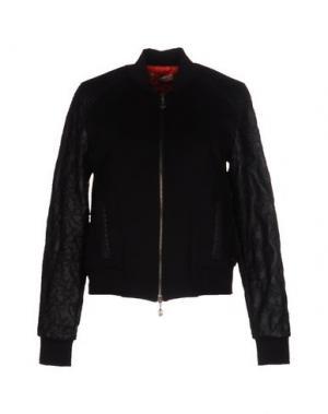 Куртка MARANI JEANS. Цвет: черный