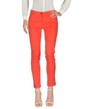 Повседневные брюки MICHAEL FORPUS. Цвет: красный