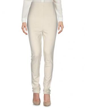 Повседневные брюки PF PAOLA FRANI. Цвет: бежевый