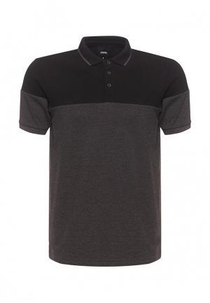 Поло Burton Menswear London. Цвет: серый