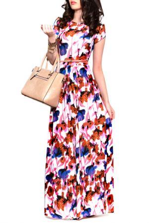 Платье FRANCESCA LUCINI. Цвет: лион