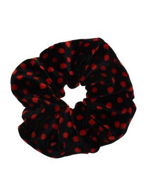 Резинка для волос Olere. Цвет: черный, красный