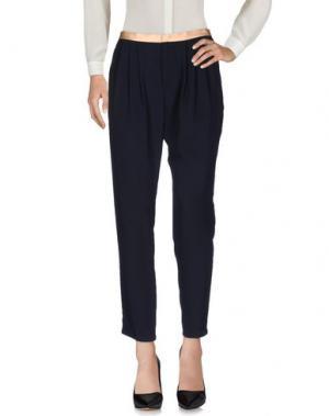 Повседневные брюки GIRL by BAND OF OUTSIDERS. Цвет: темно-синий