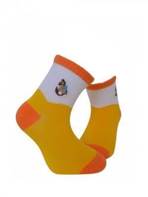 Носки, 2 шт. ARTI. Цвет: оранжевый