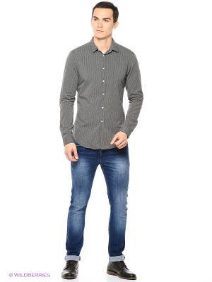 Рубашка Reserved. Цвет: серый