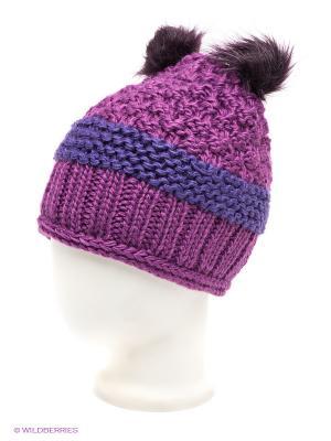 Шапка R.Mountain. Цвет: фиолетовый