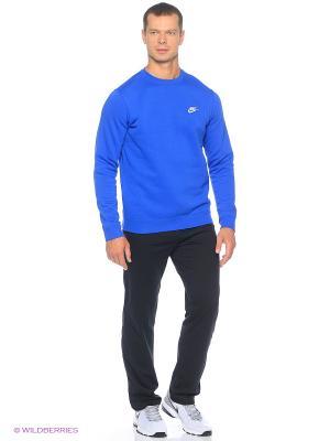 Брюки M NSW PANT OH CLUB JSY Nike. Цвет: антрацитовый, черный