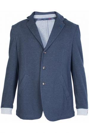 Пиджак Tombolini. Цвет: серый, темно-синий