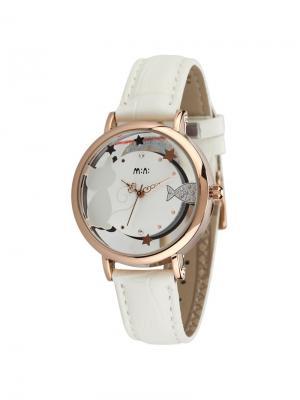 Наручные часы MN2057white Mini.. Цвет: золотистый, кремовый