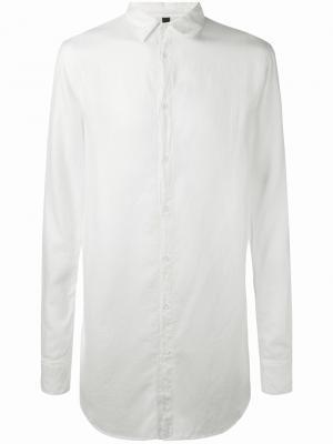 Удлиненная рубашка Poème Bohémien. Цвет: телесный