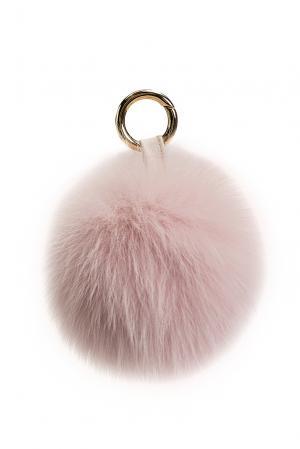 Брелок из меха лисы 178389 Flo & Clo. Цвет: розовый
