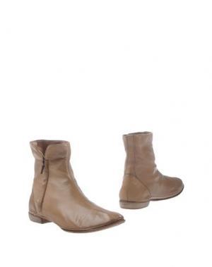 Полусапоги и высокие ботинки SARTORI GOLD. Цвет: песочный