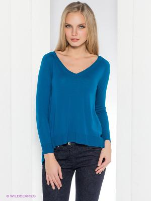 Пуловер Henry Cotton's. Цвет: синий