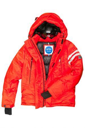 Куртка Orby. Цвет: красный
