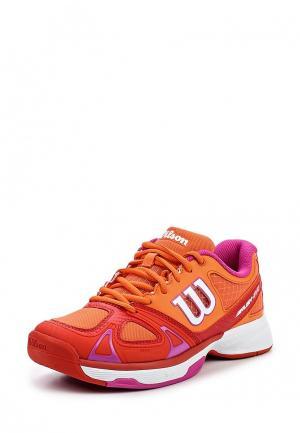 Кроссовки Wilson. Цвет: оранжевый