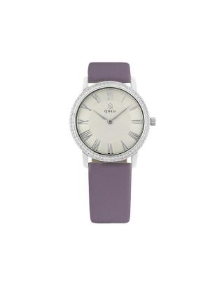 Часы ювелирные коллекция Q-Style QWILL. Цвет: серебристый