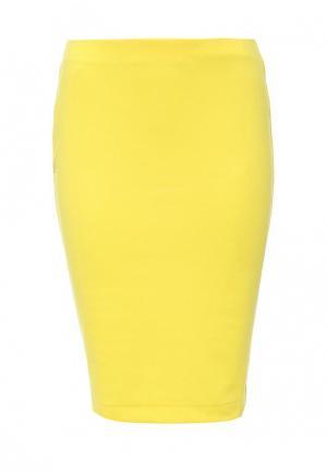 Юбка Bestia. Цвет: желтый